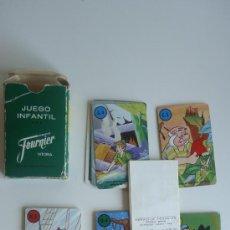 Barajas de cartas: BARAJA PETER PAN Y LOS PIRATAS, 44 CARTAS ¡CON INSTRUCCIONES!. Lote 37691517