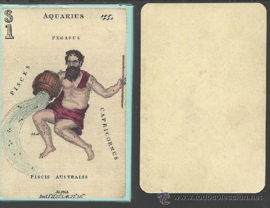 Barajas de cartas: BARAJA ASTRONOMICA DE COLECCION DATA DE ISLAS BRITANICAS SIGLO XIX 1828 COLECCION DE HACE UNOS AÑOS - Foto 2 - 38678048