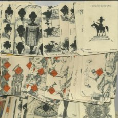Barajas de cartas: BARAJA DE TRANSFORMACION DATA DE ISLAS BRITANICAS SIGLO XIX 1860 COLECCION DE HACE UNOS AÑOS. Lote 38678076