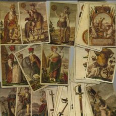 Barajas de cartas: BARAJA DE LOS CUATRO CONTINENTES DATA DE ESPAÑA SIGLO XIX 1817 COLECCION DE HACE UNOS AÑOS. Lote 37770854