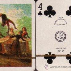 Barajas de cartas: GOYA - EL PELELE - BARAJA DE POKER. Lote 233700430