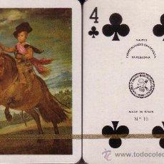 Barajas de cartas: VELAZQUEZ - EL PRINCIPE BALTASAR - BARAJA DE POKER. Lote 37851588