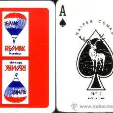 Barajas de cartas: REMAX - BARAJA DE POKER. Lote 37852912