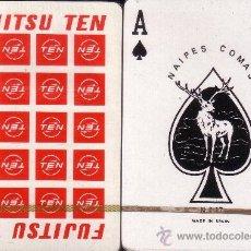 Barajas de cartas: FUJITSU TEN BLANCA - BARAJA DE POKER. Lote 37854918