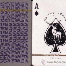 Barajas de cartas: VIETAV GRIS - BARAJA DE POKER. Lote 37858726