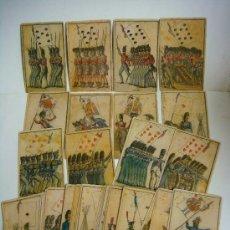 Barajas de cartas: BARAJA DE CARTAS Nº-7 BARAJA DE LAS BANDERAS FRANCIA SIGLO XIX (1814,ES NUEVA. COMPRANDO VARIOS ARTI. Lote 137673044