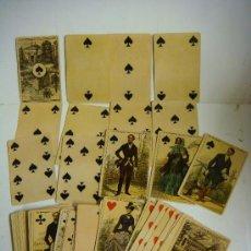 Barajas de cartas: BARAJA DE CARTAS Nº-10 BARAJA IMPERIAL FRANCIA SIGLO XIX (1860). Lote 170571206