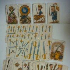 Barajas de cartas - BARAJA DE CARTAS Nº-22 BARAJA POLITICA ESPAÑA SIGLO XIX (1872) - 163612678