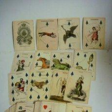 Barajas de cartas: BARAJA DE CARTAS Nº-28 BARAJA INGLESA DEL ZODIACO ISLAS BRITANICAS. Lote 170571280