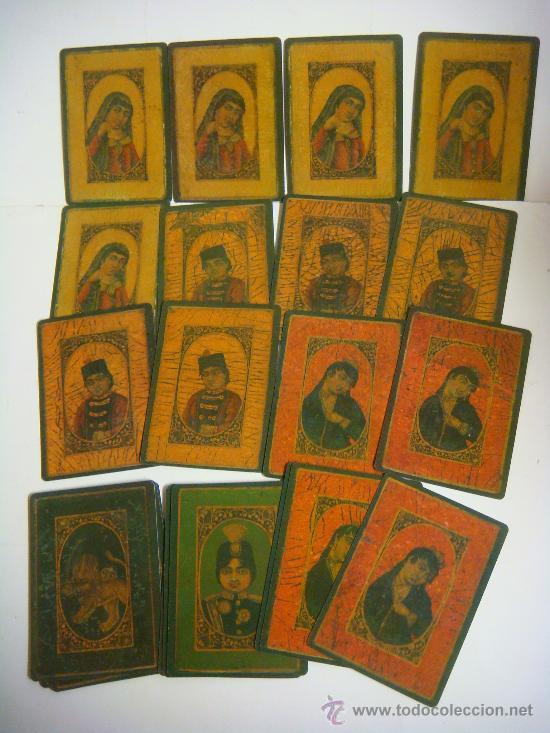BARAJA DE CARTAS Nº-32 BARAJA AS NAS PERSIA SIGLO XIX. (Juguetes y Juegos - Cartas y Naipes - Baraja Española)