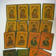 Barajas de cartas: BARAJA DE CARTAS Nº-32 BARAJA AS NAS PERSIA SIGLO XIX.. Lote 37861752
