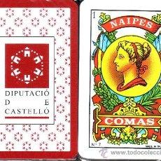 Barajas de cartas: DIPUTACIO DE CASTELLO - BARAJA ESPAÑOLA 50 CARTAS. Lote 37869541