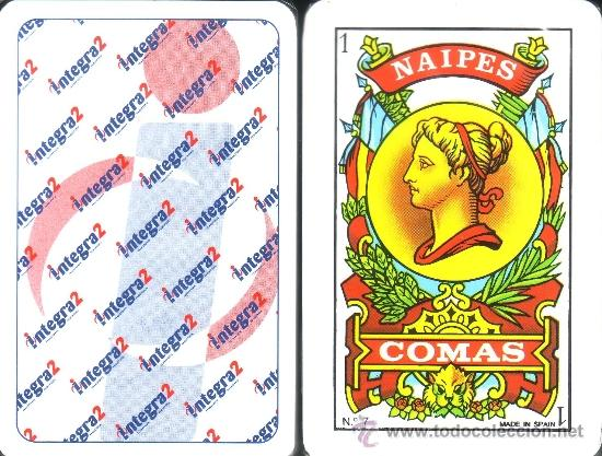 INTEGRA2 - BARAJA ESPAÑOLA 50 CARTAS (Juguetes y Juegos - Cartas y Naipes - Baraja Española)