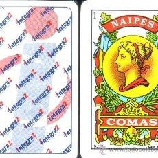 Barajas de cartas: INTEGRA2 - BARAJA ESPAÑOLA 50 CARTAS. Lote 37869586