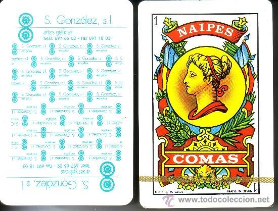 S. GONZALEZ ARTES GRÁFICAS - BARAJA ESPAÑOLA 50 CARTAS (Juguetes y Juegos - Cartas y Naipes - Baraja Española)