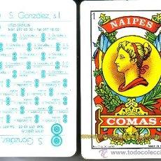 Barajas de cartas: S. GONZALEZ ARTES GRÁFICAS - BARAJA ESPAÑOLA 50 CARTAS. Lote 37880789