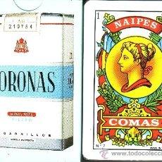Barajas de cartas: CORONAS - CIGARRILLOS - BARAJA ESPAÑOLA 50 CARTAS. Lote 37880806