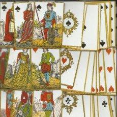 Barajas de cartas: BARAJA HISTORICA PRIMERA CRUZADA DATA DE BELGICA SIGLO XIX 1875 COLECCION DE HACE UNOS AÑOS . Lote 37924490