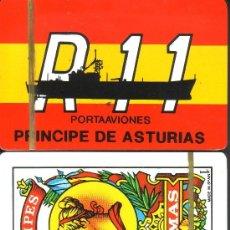 Barajas de cartas: PORTAAVIONES PRINCIPE DE ASTURIAS - BARAJA ESPAÑOLA 40 CARTAS. Lote 37948719
