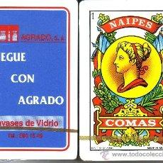 Barajas de cartas: AGRADO - BARAJA ESPAÑOLA 50 CARTAS. Lote 37959732