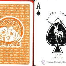 Barajas de cartas: MIKEL I OLGA 7-7-07 - BARAJA POKER. Lote 37963388