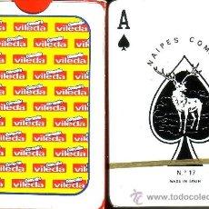Barajas de cartas: VILEDA- BARAJA POKER. Lote 37966171