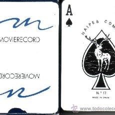 Barajas de cartas: MOVIERECORD - BARAJA DE POKER. Lote 37991821