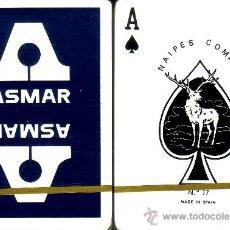 Barajas de cartas: ASMAR AZUL - BARAJA DE POKER. Lote 38011046
