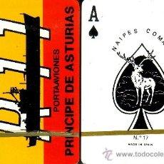 Barajas de cartas: PORTAAVIONES PRINCIPE DE ASTURIAS - BARAJA DE POKER. Lote 38022636
