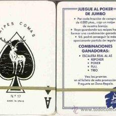 Barajas de cartas: JUMBO - BARAJA POKER. Lote 38030840