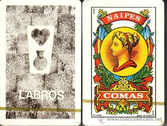 LABROS - BARAJA ESPAÑOLA DE 40 CARTAS (Juguetes y Juegos - Cartas y Naipes - Baraja Española)