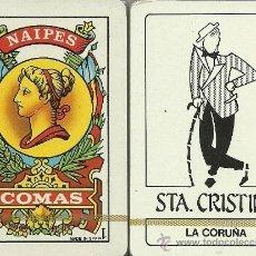 Barajas de cartas: STA. CRISTINA - LA CORUÑA - BARAJA ESPAÑOLA DE 40 CARTAS. Lote 38041841