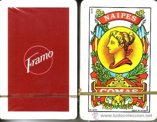 FRAMO - BARAJA ESPAÑOLA DE 40 CARTAS (Juguetes y Juegos - Cartas y Naipes - Baraja Española)