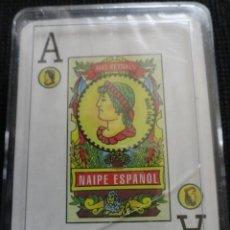 Barajas de cartas: BARAJA NAIPES CARTAS POKER ESPAÑOL. Lote 38122987