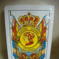 Barajas de cartas: BARAJA DE CARTAS ESPAÑOLA MOD 003 MAESTROS NAIPEROS ESPAÑOLES. Lote 38319113