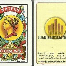 Barajas de cartas: JUAN BAUTISTA SOLER - BARAJA ESPAÑOLA 50 CARTAS. Lote 38319467