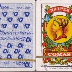 Barajas de cartas: VIGOR - BARAJA ESPAÑOLA 50 CARTAS. Lote 38319529