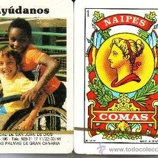 Barajas de cartas: AYUDANOS - SAN JUAN DE DIOS - BARAJA ESPAÑOLA 40 CARTAS. Lote 38371255