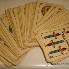 Barajas de cartas: BARAJA DE CARTAS. LA LOBA. JUAN ROURA. 1939. PARA LA EXPORTACION. COMPLETA. VER FOTOS. Lote 38415404