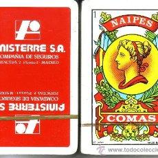 Barajas de cartas: FINISTERRE SEGUROS - BARAJA ESPAÑOLA 40 CARTAS. Lote 38421932
