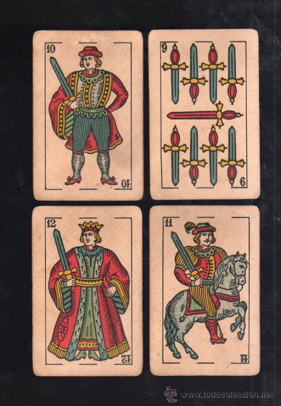 Barajas de cartas: BARAJA DE CARTAS. LA LOBA. JUAN ROURA. 1939. PARA LA EXPORTACION. COMPLETA. VER FOTOS - Foto 12 - 38415404