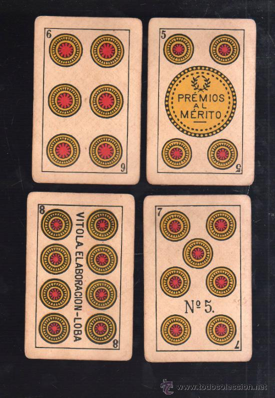 Barajas de cartas: BARAJA DE CARTAS. LA LOBA. JUAN ROURA. 1939. PARA LA EXPORTACION. COMPLETA. VER FOTOS - Foto 10 - 38415404