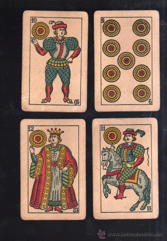 Barajas de cartas: BARAJA DE CARTAS. LA LOBA. JUAN ROURA. 1939. PARA LA EXPORTACION. COMPLETA. VER FOTOS - Foto 9 - 38415404