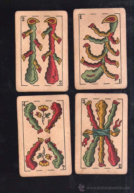 Barajas de cartas: BARAJA DE CARTAS. LA LOBA. JUAN ROURA. 1939. PARA LA EXPORTACION. COMPLETA. VER FOTOS - Foto 8 - 38415404