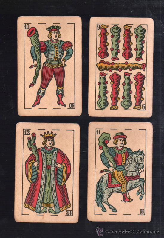 Barajas de cartas: BARAJA DE CARTAS. LA LOBA. JUAN ROURA. 1939. PARA LA EXPORTACION. COMPLETA. VER FOTOS - Foto 6 - 38415404