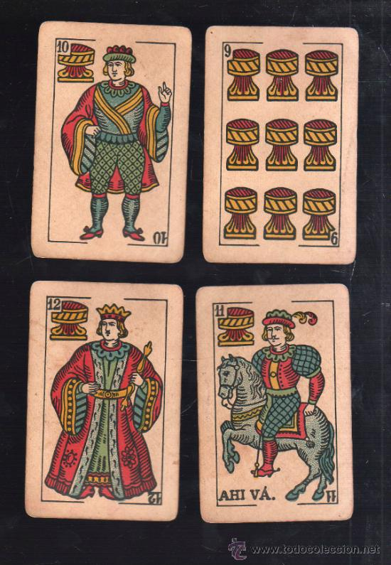 Barajas de cartas: BARAJA DE CARTAS. LA LOBA. JUAN ROURA. 1939. PARA LA EXPORTACION. COMPLETA. VER FOTOS - Foto 3 - 38415404
