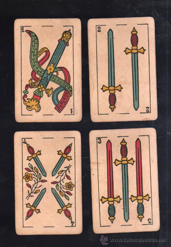 Barajas de cartas: BARAJA DE CARTAS. LA LOBA. JUAN ROURA. 1939. PARA LA EXPORTACION. COMPLETA. VER FOTOS - Foto 2 - 38415404