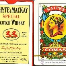 Barajas de cartas: WHYTE & MACKAY SCOTCH WHISKY - BARAJA ESPAÑOLA 50 CARTAS. Lote 38429182