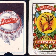 Barajas de cartas: REVOLTOSA GASEOSA - BARAJA ESPAÑOLA 50 CARTAS. Lote 38431296