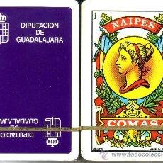Barajas de cartas: DIPUTACION DE GUADALAJARA - BARAJA ESPAÑOLA 40 CARTAS. Lote 38454940